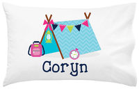 Camper Girl Pillowcase