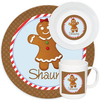 Gingerbread Melamine Set Girl