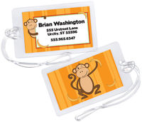 Monkey Business Boy Luggage Tag