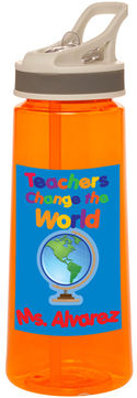 Teachers Change the World Water Bottle