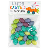 Carrot Race Easter Candy Bag Toppers