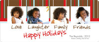 Love Laughter Holiday Card