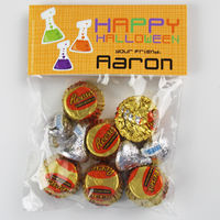 Halloween Beakers Candy Bag Toppers