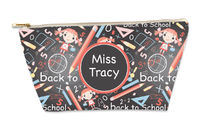 Back To School Small Gusseted Pouch