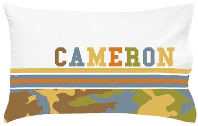 Camo Boy Pillowcase