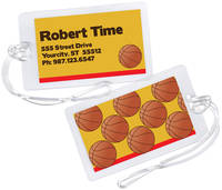 Basketball Fan Luggage Tag
