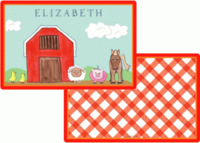 Down on the Farm Placemat P-827