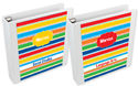 Primary Stripes Binder Insert Set
