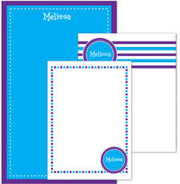 Blue Purple Pad Set