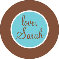 Chocolate Rim Sticker SC-16Z