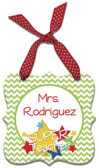 Stellar Teacher Acrylic Ornament
