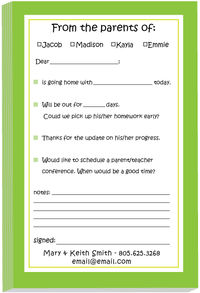 Green Excuse Pad