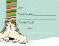 Ice Skates Fill-in Card
