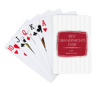 Broken Chevron Playing Cards